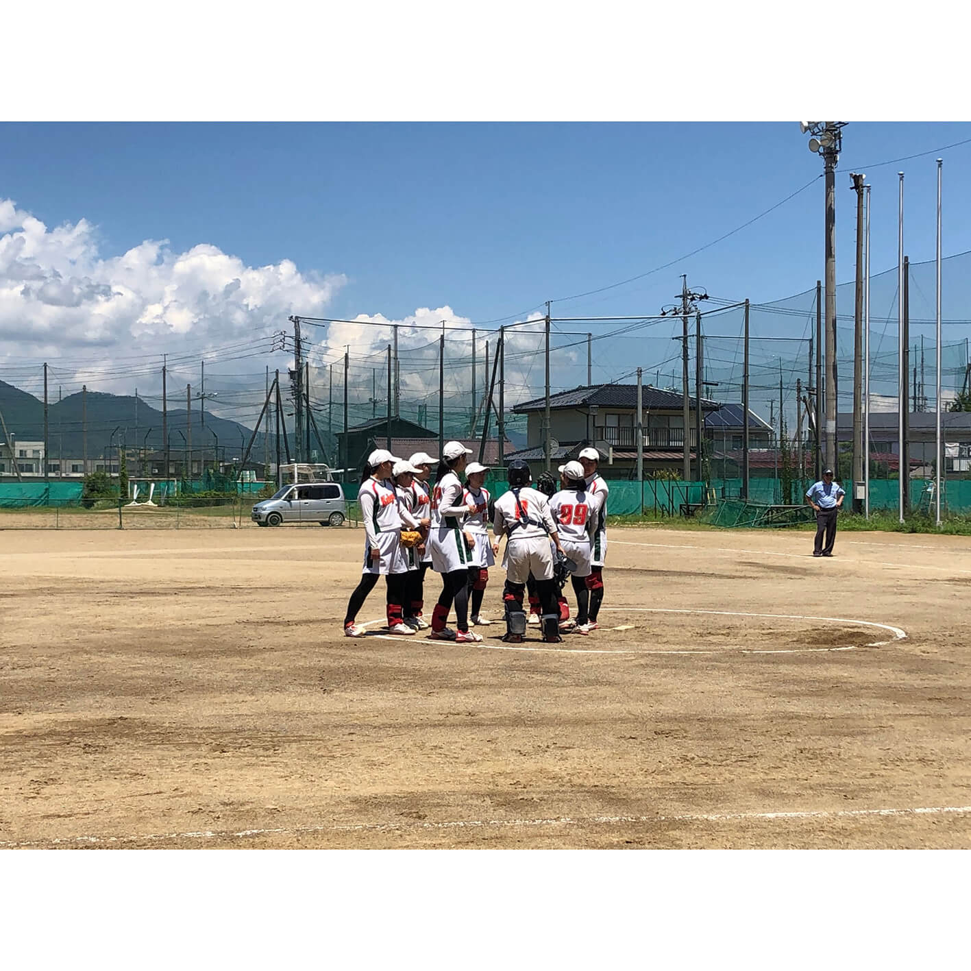 長野県下諏訪向陽高等学校 ソフトボール部